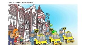 Budi HP, Indonesia, 2019, Balai Kartun Rossem, International Cartoon Exhibition, Malaysia