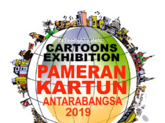 International Cartoon Exhibition, Balai Kartun Rossem, Malaysia, 2019