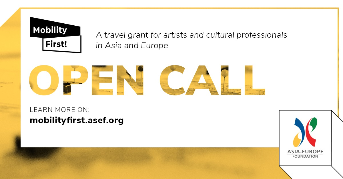 ASEF Mobility First! 2020 Travel Grant Opens Call for Application