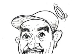 "Caricature ""Rest in Peace Glenn Fredly"" by Kustiono"