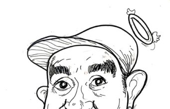 """Caricature """"Rest in Peace Glenn Fredly"""" by Kustiono"""