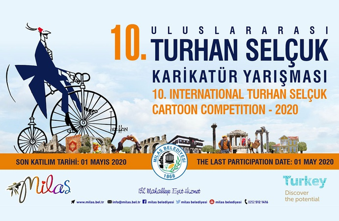 10th International Turhan Selcuk Cartoon Competition Turkey 2020 | Deadline 01 May 2020