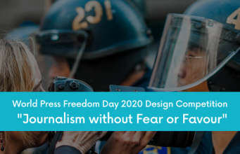 "Wolrd Press Freedom Day 2020 Design Competition ""Journalism without Fear or Favour"" 