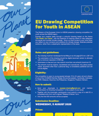 EU Drawing Competition for Youth in ASEAN: Our Planet, Our Future