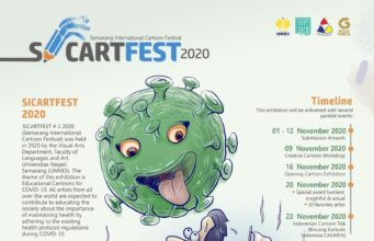 SIKARTFEST'20 Semarang International Cartoon Festival 2020 | Deadline 12 November 2020