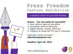 Press Freedom Cartoon Exhibition 2021